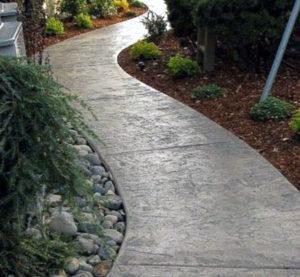 Поставки щебня, речного песка и ПГС для создания бетонных дорожек
